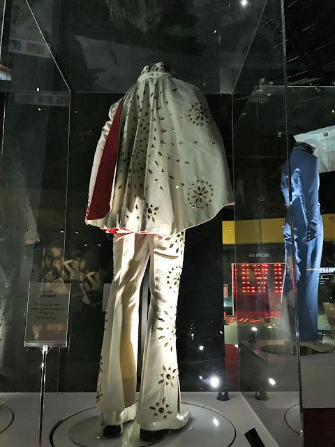 Elvis Presley White Jumpsuit. Elvis At The O2 Exhibition.
