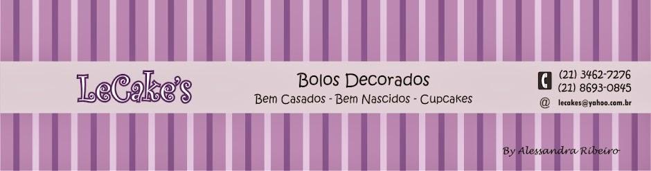 LeCake's - Bolos Artísticos - Bolos Decorados - Bolo Casamento - Bem Casado - Bem Nascido - Cupcake