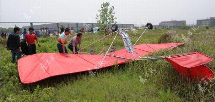 Shu Mansheng, Petani yang Menciptakan Pesawat
