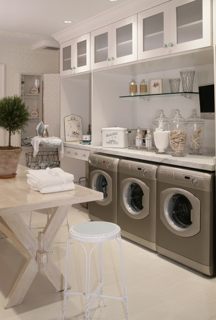 Haus Design: My Idea of Perfection: Laundry/Project Room