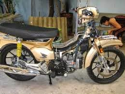 modifikasi motor honda astrea star