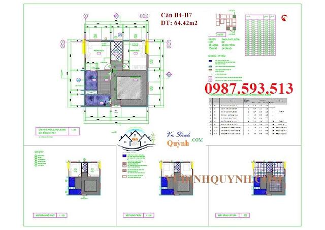 Căn B4-B7 dự án 122 Vĩnh Tuy