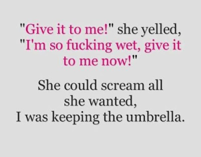 give it to me wet umbrella