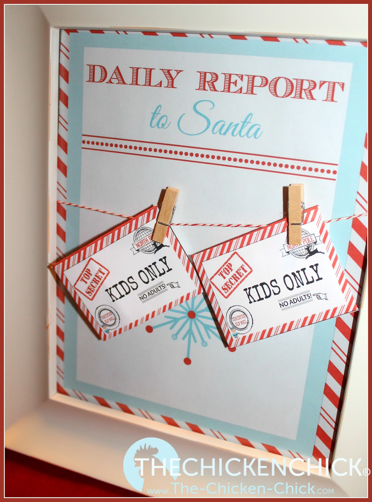 Elf On The Shelf Naughty Or Nice Report Cards To Santa With Free