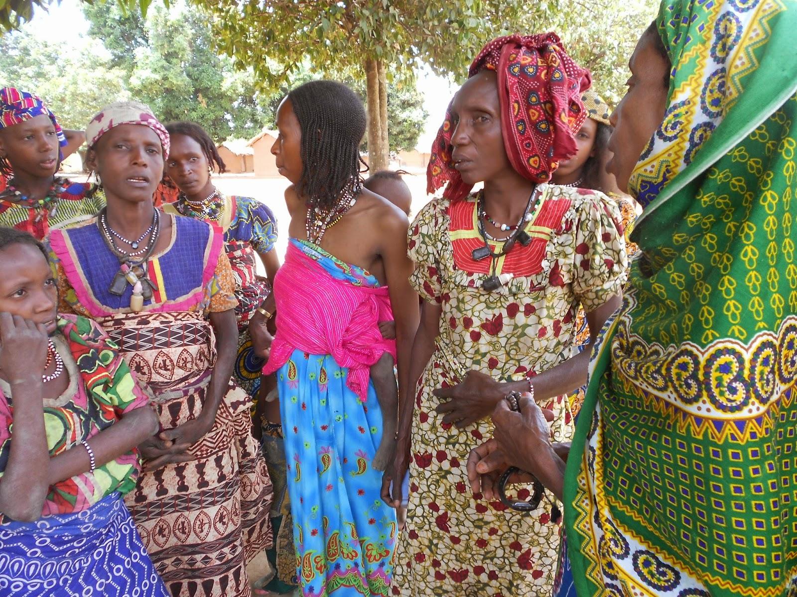 Le donne si sono riprese dopo i primi aiuti ricevuti a Bozoum