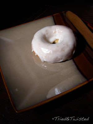 Baked Glazed Donut via Tried & Twisted