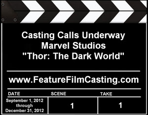 Thor The Dark World Casting Auditions