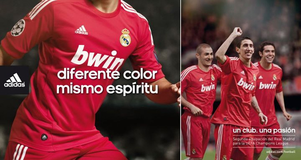 Real Madrid Champions League Third Shirt kit 2011 2012