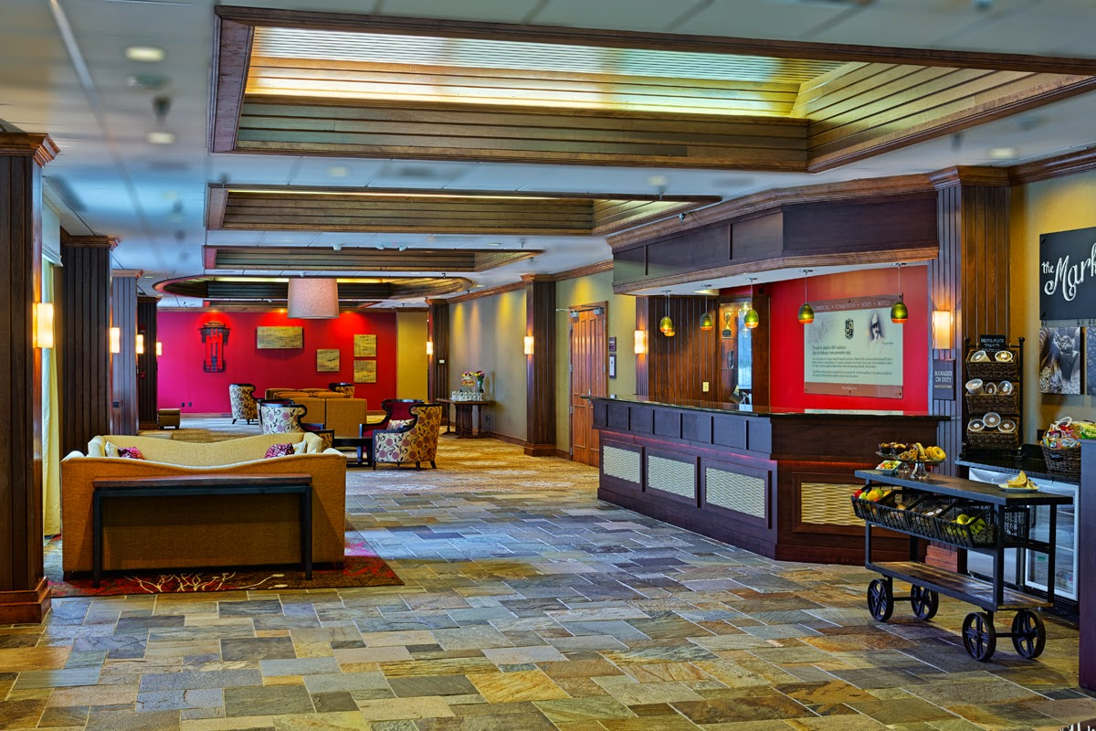 The DoubleTree Biltmore in Asheville is a full-service property with indoor pool and fitness center.