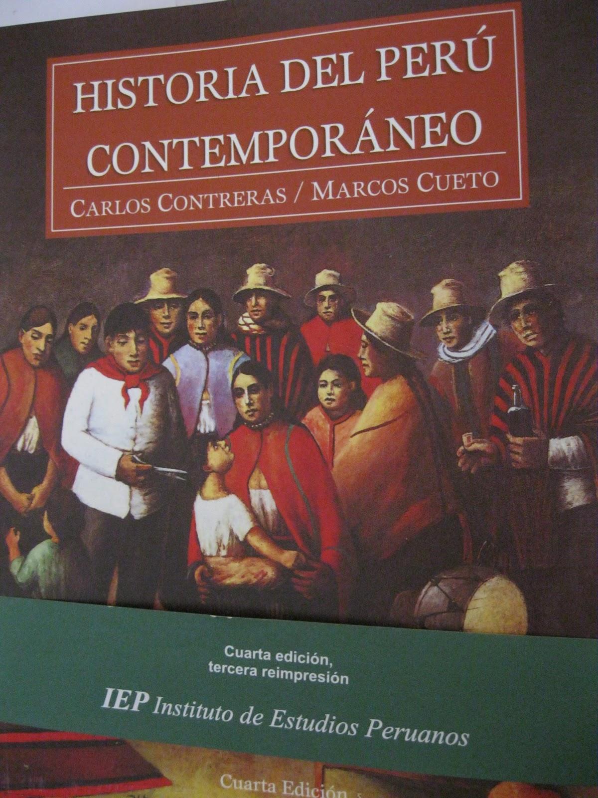 Historia del peru contemporaneo carlos contreras for Caracteristicas del contemporaneo