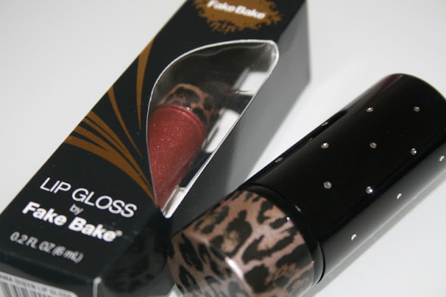 Fake Bake Lip Gloss and Kabuki
