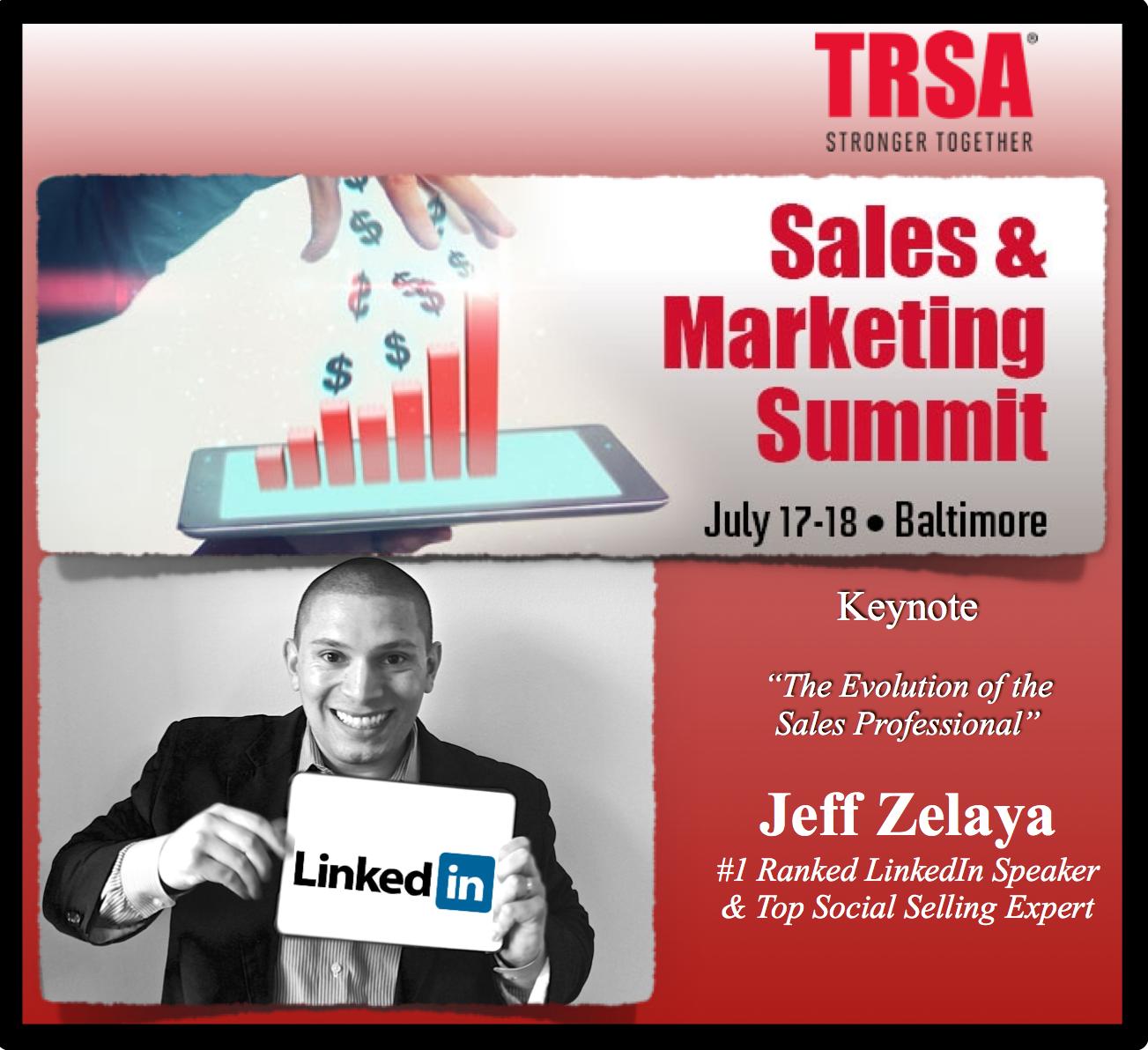 Keynote Social Selling Speaker at TRSA