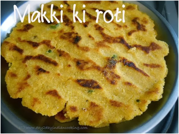 maize flour roti recipe