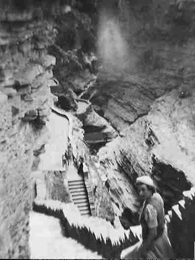 Watkins Glen State Park in the late 1930s