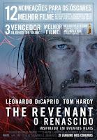 """O renascido"""", um filme do realizador Alejandro González Iñárritu, com Leonardo DiCaprio"""