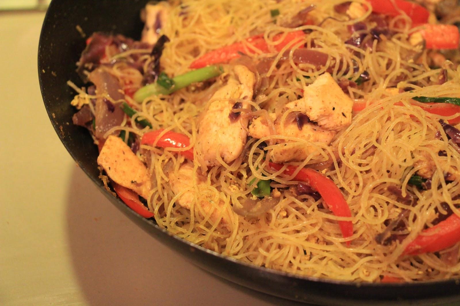 Singapore Noodles... Yummmm