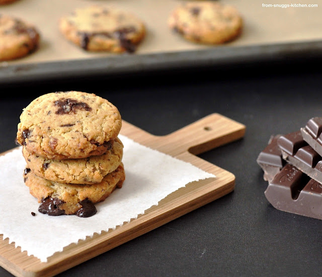 Bacon-Chocolate Chip-Cookies