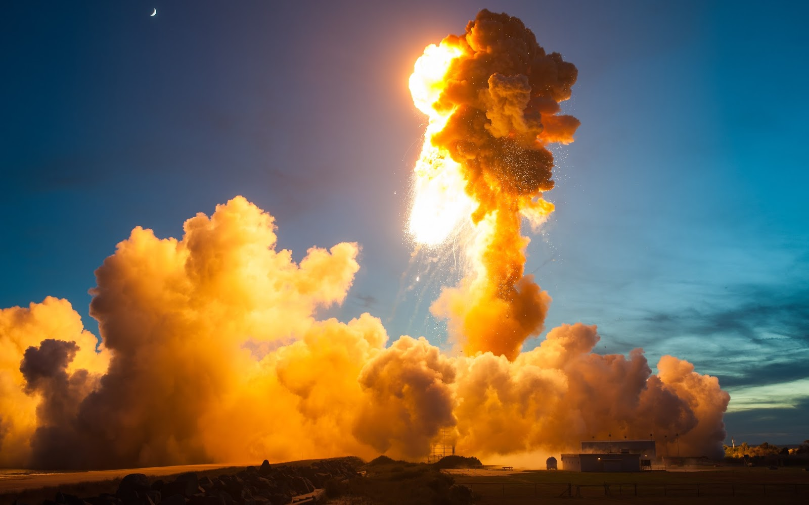 Antares Orb 3 mission in