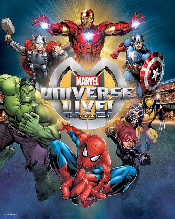 Marvel Universive Live! Canadian tour