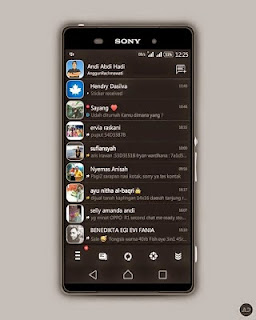 BBM Mod Black Revolution 2.8.0.21 APK