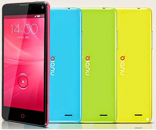 ZTE Nubia Z5s Mini NX403A Android Phone Murah Rp 1 Jutaan