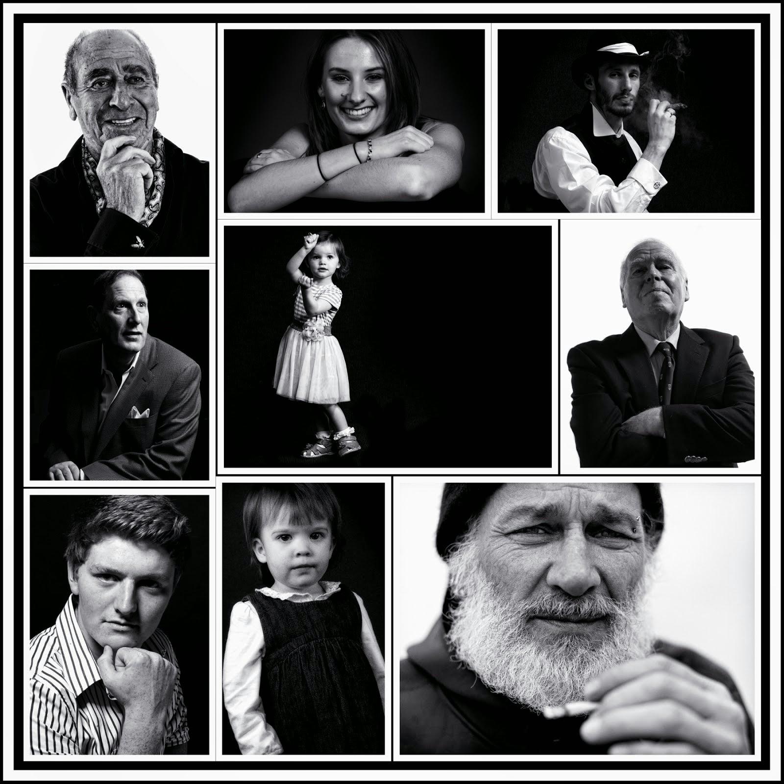 Classic B&W Portraits