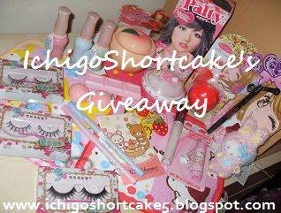 Ichigoshortcake's Giveaway!