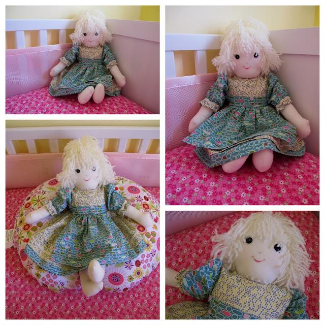 Stella's Baby Doll Handmade by Grandma Kaye