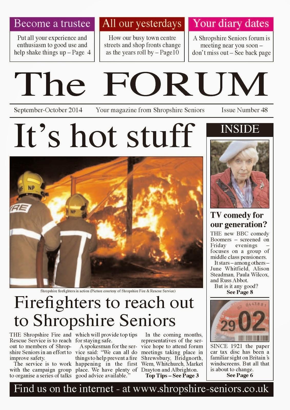 Shropshire Seniors Forum