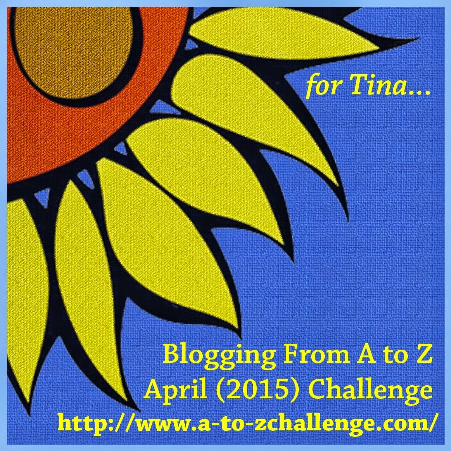 2015 A to Z CHALLENGE IS ON.
