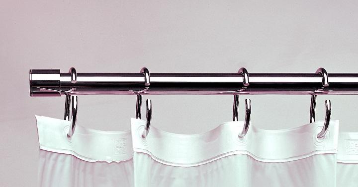 Marzua tipos de barras para las cortinas del ba o - Barras de cortinas extensibles ...