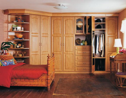 Increase Your Bedroom Storage Space Using Bedroom Wall ...