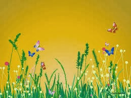 Background Powerpoint 1 Nuansa Floral ♬my Serenity♬