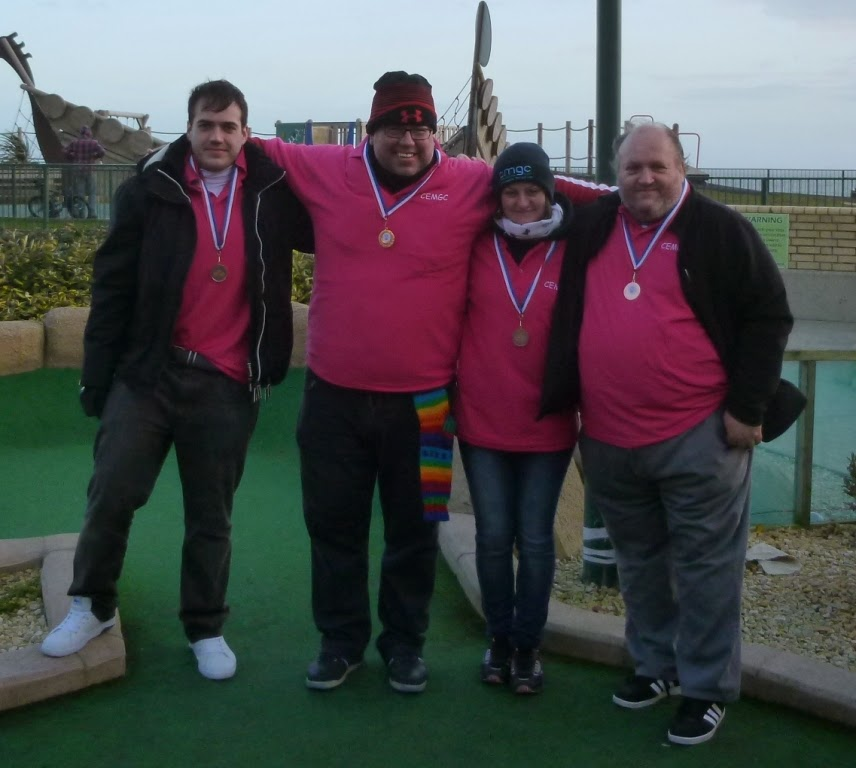 The CEMGC at the BMGA British Minigolf Club Championships in Hastings