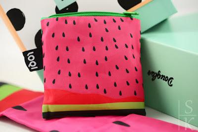 LOQI Tasche Frutti Watermelon