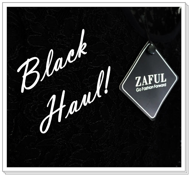 zaful black haul