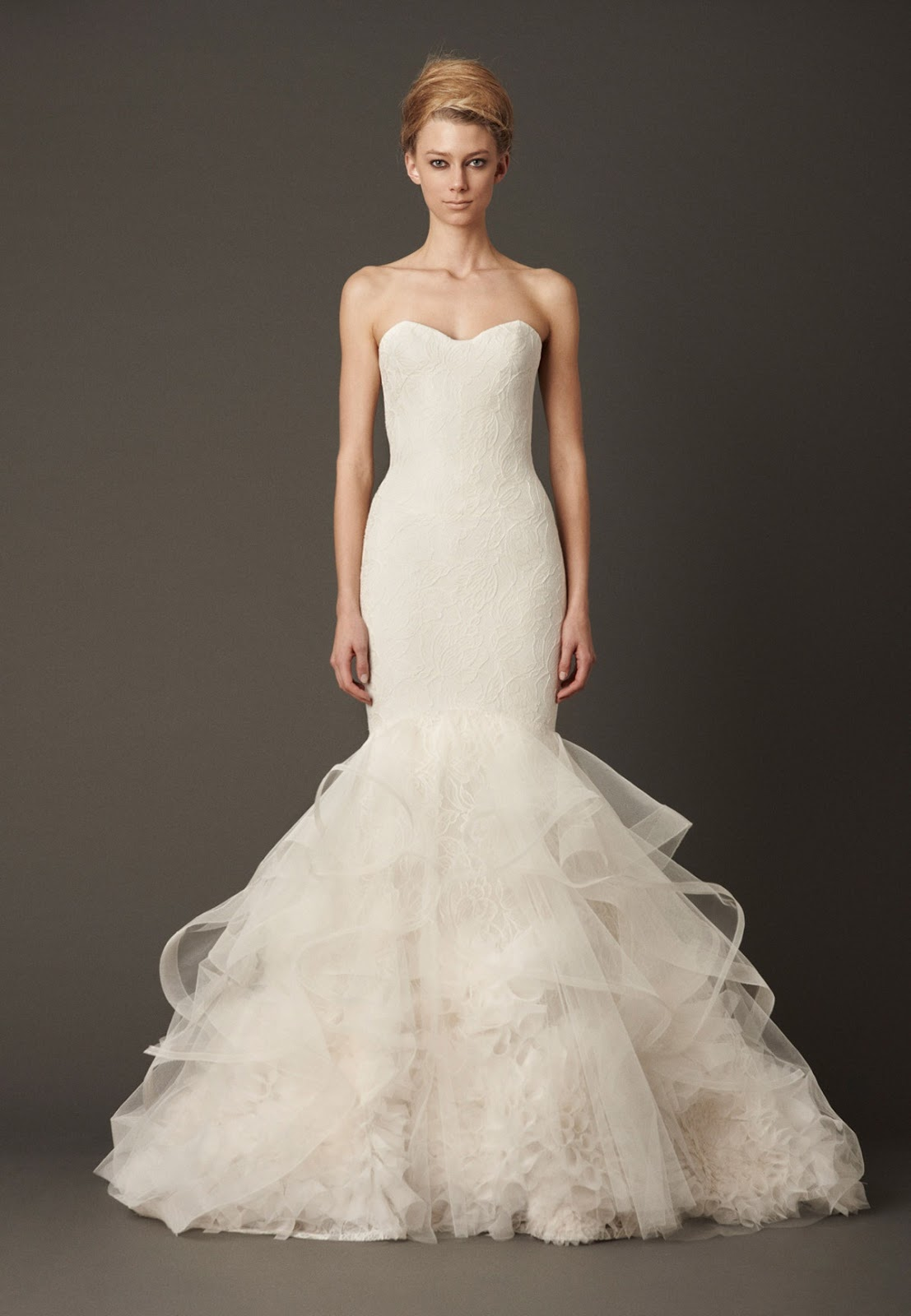 Vera wang 2013 fall bridal collection for Vera wang used wedding dress