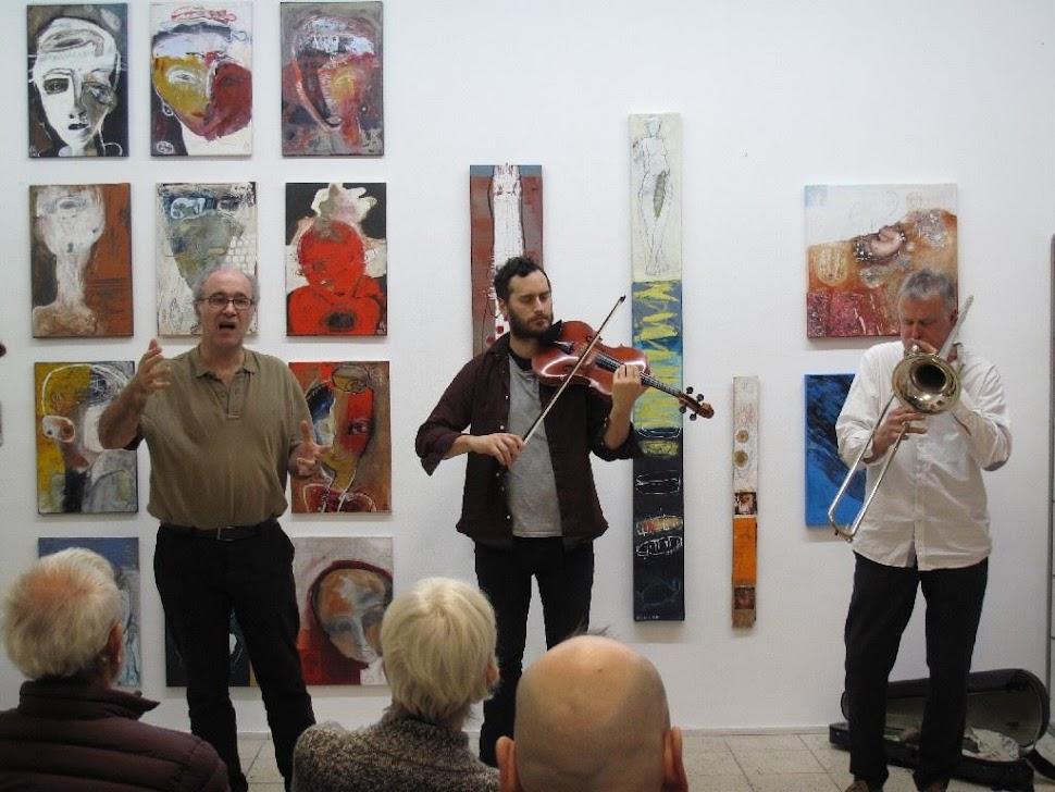J-M Van Schouwburg, Benedict Taylor & Paul Hubweber