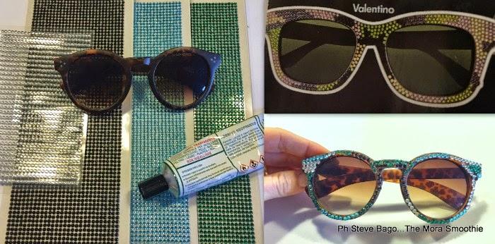 fashion, fashion diy, diy, craft, sunglasses, sunglasses valentino, occhiali da sole valentino, valentino camouflage, sunglasses camouflage e swarovski valentino, DIY valentino, DIY valentino sunglasses,fashionblogger, italianfashionblogger