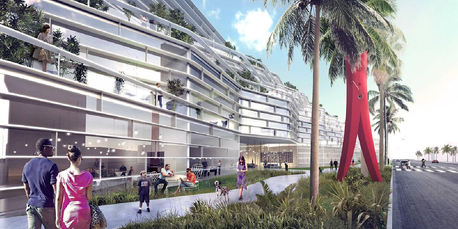 Miami Beach Square By Big A As Architecture