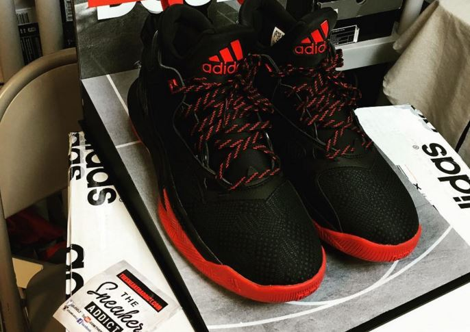 cheap for discount 73746 527eb adidas Damian Lillard 2 BlackRed Sneaker (Detailed Look With Special  Packaging)