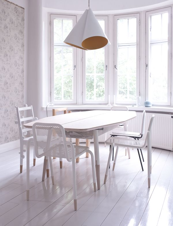 Life as a moodboard bright dining room scandinavian style Scandinavian style dining room