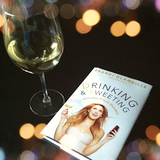 Drinking and Tweeting, Brandi Glanville, book, book review