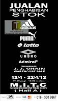 Adidas Puma Stock Clearance Sale Melaka