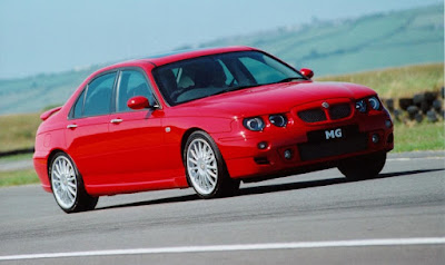 MG ZT is rather handsome