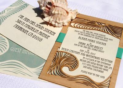 Undangan Pernikahan Bernuansa Pantai