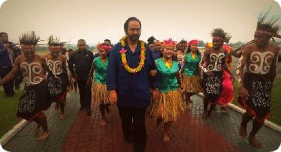 Surya Paloh Minta Kader Nasdem di Tanah Papua Menangkan Pilkada Serentak 2015