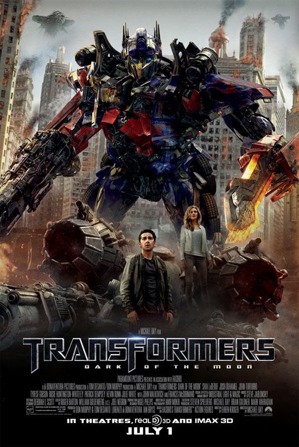 Film: New Transformers Poster 3 now with its human protagonists