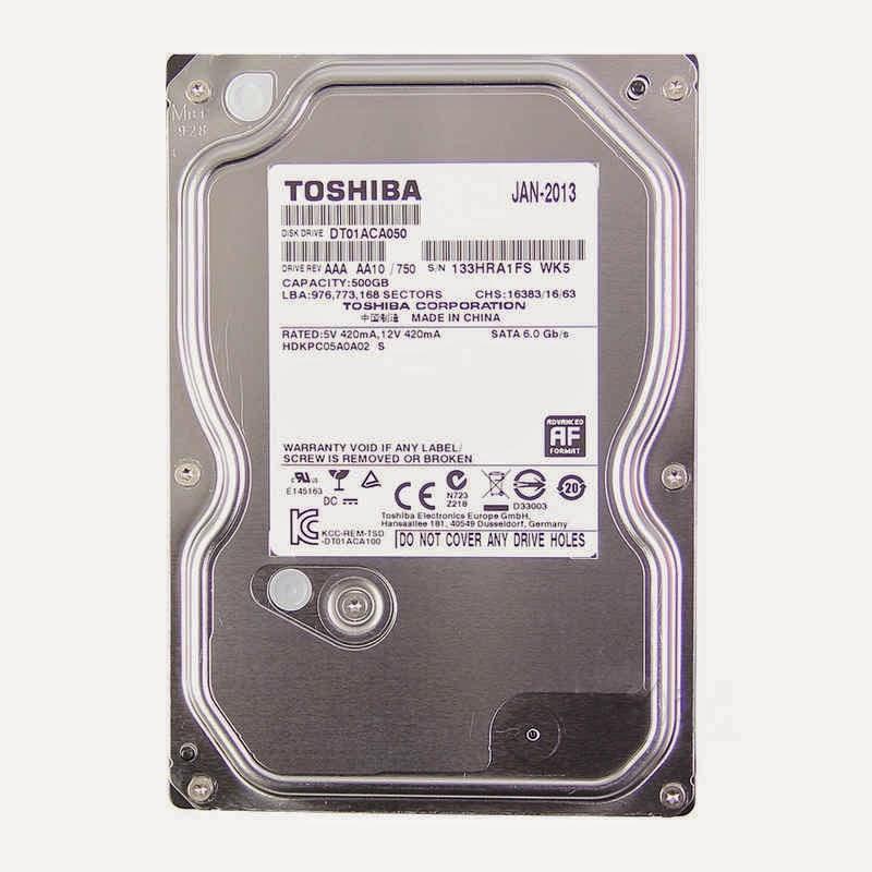 HARD DISK 500GB TOSHIBA