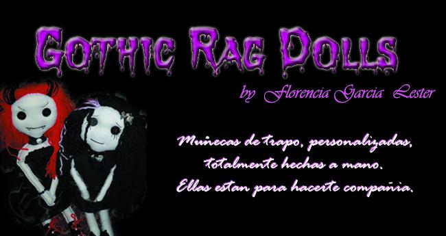 Gothic Rag Dolls